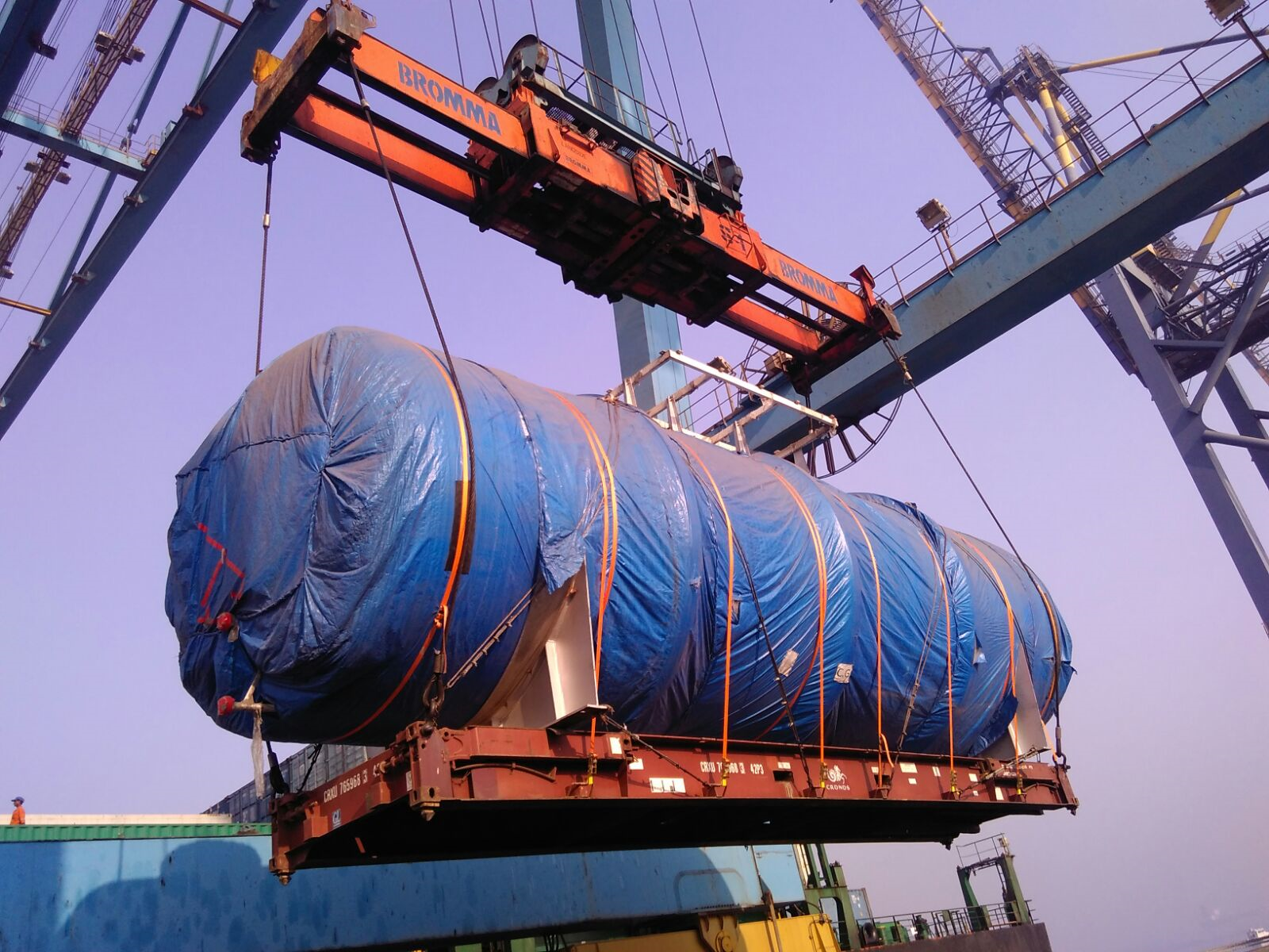 Fleet Line Shipping Llc Dubai Project Cargo Handling