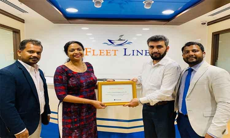 FLS was awarded with the best performer for OOG (Project Cargo) for the year 2018 by Hapag-Lloyd
