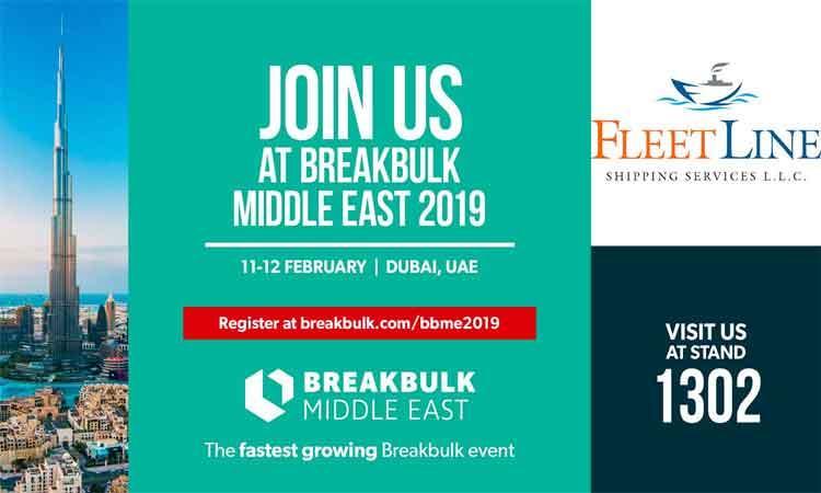 FLS Participating In Breakbulk Middle East 2019