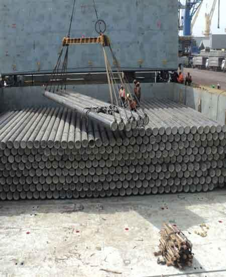 6000 CBM pipes from India to Ras Al Khaimah on door-to-door basis
