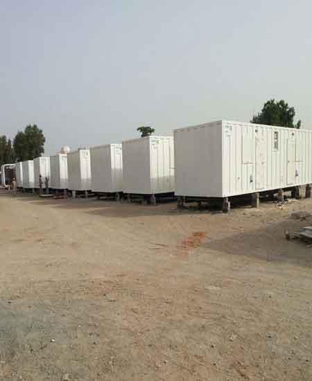 25 caravan units handled from Dubai to Iraq
